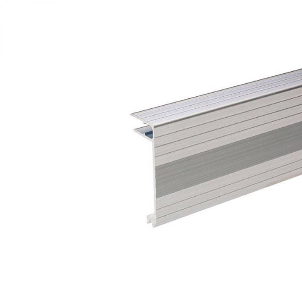 adam hall 6113 aluminium deckelrahmen 30x75 mm f r 9 5 mm materi. Black Bedroom Furniture Sets. Home Design Ideas