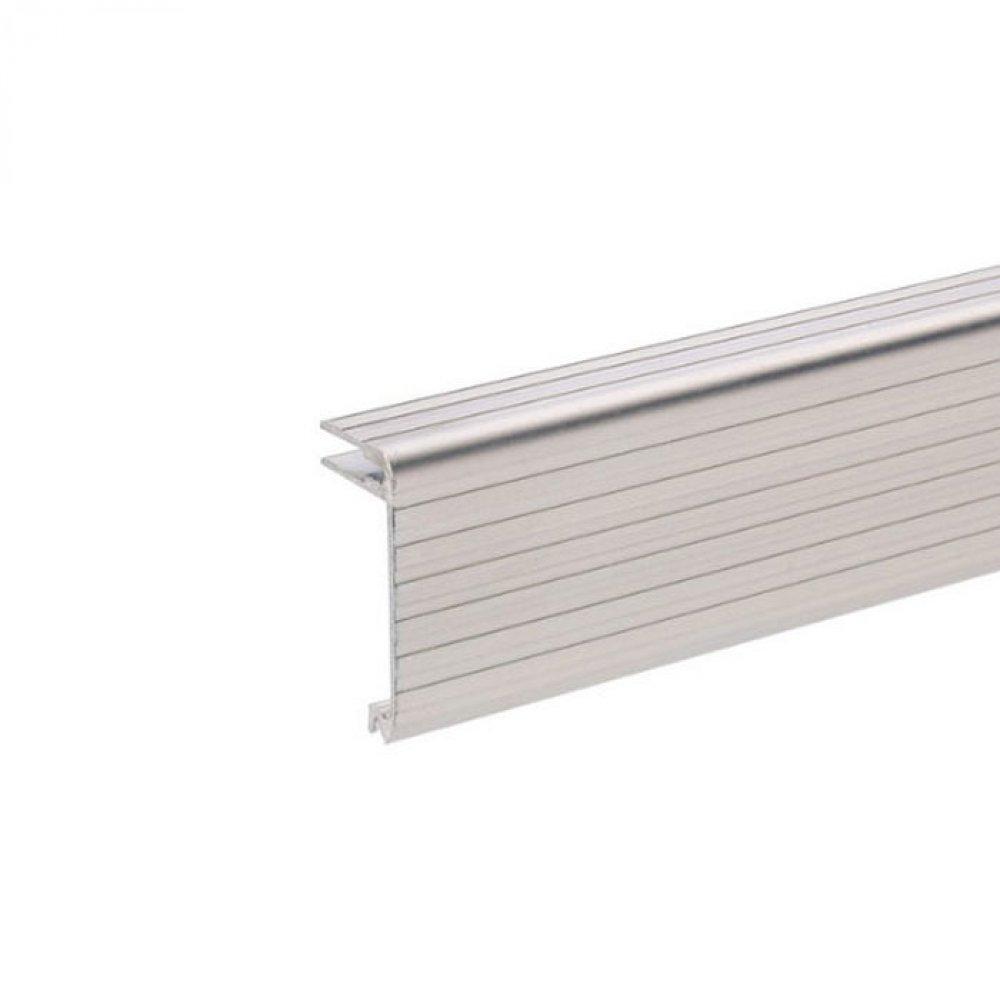 adam hall 6134 aluminium deckelrahmen 17x37 mm f r 4 mm material. Black Bedroom Furniture Sets. Home Design Ideas