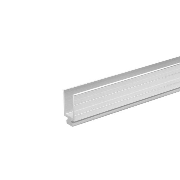 2 m Adam Hall 6250 M - Auszugprofil Aluminium männlich 9,5 mm