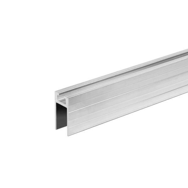 2 m Adam Hall 6250 F - Auszugprofil Aluminium weiblich 9,5 mm