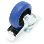 Flightcase Lenkrolle 100 mm Blue Wheel mit Feststeller 160 kg
