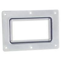 Adam Hall 8795 - Barcode Scan Fenster in Stahl Einbauschale
