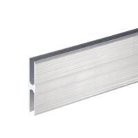 Adam Hall 6128 Aluminium H-Profil 70 mm Ansatzprofil 10...