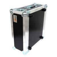 """4 HE Rack Case 19"""" Double Door Rack 45 CM gelb RSH"""