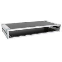 19 Zoll Studio-Rack 23 CM 1 HE Birke MPX Phenol schwarz