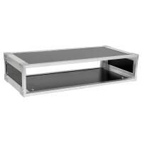 19 Zoll Studio-Rack 23 CM 2 HE Birke MPX grau