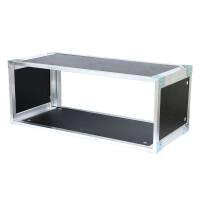 19 Zoll Studio-Rack 23 CM 3 HE Birke MPX PVC schwarz