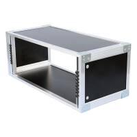 19 Zoll Studio-Rack 23 CM 4 HE Birke MPX Phenol schwarz