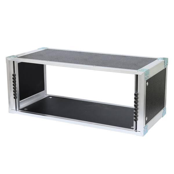 19 Zoll Studio-Rack 23 CM 4 HE Birke MPX PVC schwarz