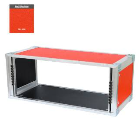 19 Zoll Studio-Rack 23 CM 5 HE Birke MPX rot