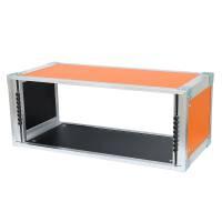 19 Zoll Studio-Rack 23 CM 6 HE Birke MPX orange