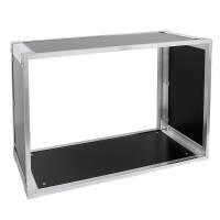 19 Zoll Studio-Rack 23 CM 7 HE Birke MPX Phenol schwarz