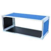 19 Zoll Studio-Rack 23 CM 7 HE Birke MPX blau