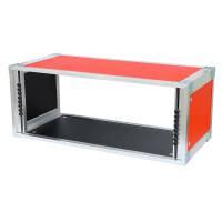 19 Zoll Studio-Rack 23 CM 7 HE Birke MPX rot