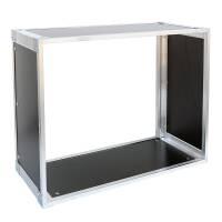 19 Zoll Studio-Rack 23 CM 8 HE Birke MPX Phenol schwarz