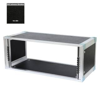 19 Zoll Studio-Rack 23 CM 9 HE Birke MPX PVC schwarz