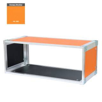 19 Zoll Studio-Rack 23 CM 9 HE Birke MPX orange
