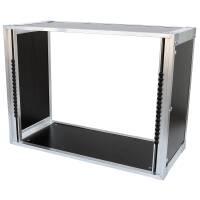 19 Zoll Studio-Rack 23 CM 9 HE Birke MPX grau
