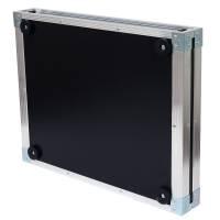 19 Zoll Studio-Rack 40 CM 1 HE Birke MPX PVC schwarz
