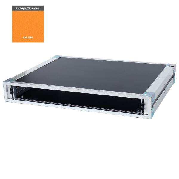 19 Zoll Studio-Rack 40 CM 1 HE Birke MPX orange