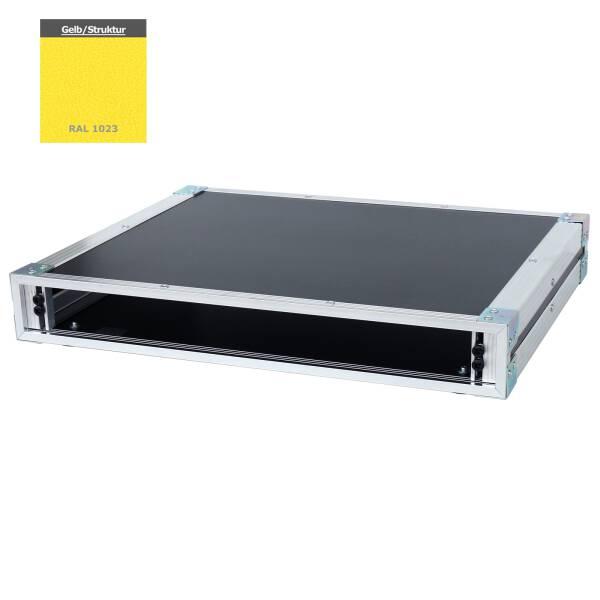 19 Zoll Studio-Rack 40 CM 1 HE Birke MPX gelb