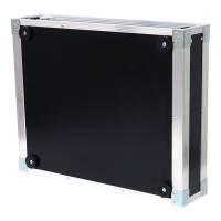 19 Zoll Studio-Rack 40 CM 2 HE Birke MPX PVC schwarz