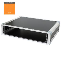 19 Zoll Studio-Rack 40 CM 2 HE Birke MPX orange