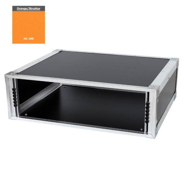 19 Zoll Studio-Rack 40 CM 3 HE Birke MPX orange