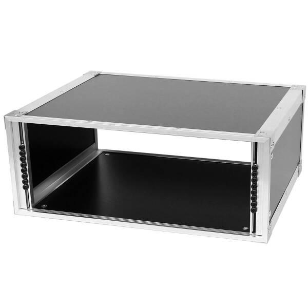 19 Zoll Studio-Rack 40 CM 4 HE Birke MPX Phenol schwarz