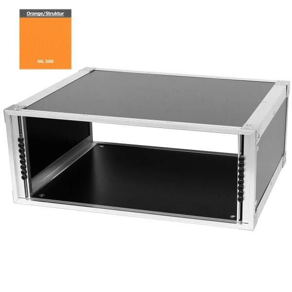 19 Zoll Studio-Rack 40 CM 4 HE Birke MPX orange