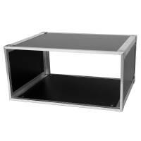 19 Zoll Studio-Rack 40 CM 5 HE Birke MPX Phenol schwarz
