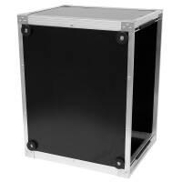 19 Zoll Studio-Rack 40 CM 7 HE Birke MPX PVC schwarz
