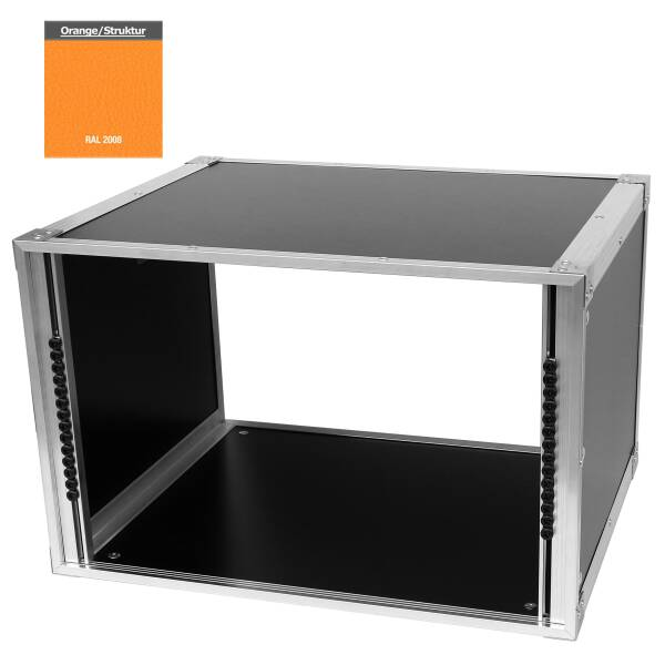 19 Zoll Studio-Rack 40 CM 7 HE Birke MPX orange