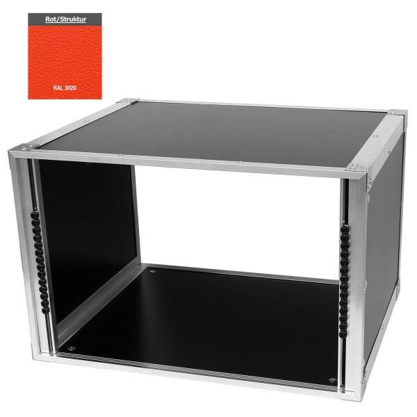 19 Zoll Studio-Rack 40 CM 7 HE Birke MPX rot