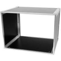 19 Zoll Studio-Rack 40 CM 8 HE Birke MPX Phenol schwarz