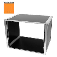 19 Zoll Studio-Rack 40 CM 8 HE Birke MPX orange