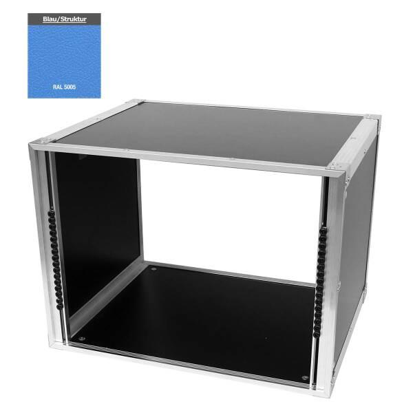 19 Zoll Studio-Rack 40 CM 8 HE Birke MPX blau