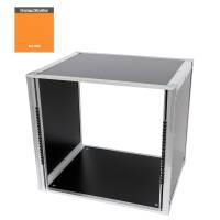 19 Zoll Studio-Rack 40 CM 10 HE Birke MPX orange