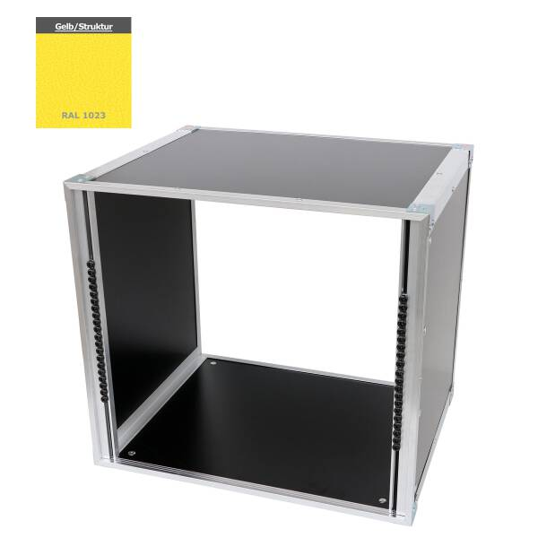 19 Zoll Studio-Rack 40 CM 10 HE Birke MPX gelb