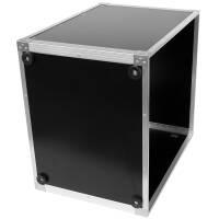 19 Zoll Studio-Rack 40 CM 12 HE Birke MPX Phenol schwarz