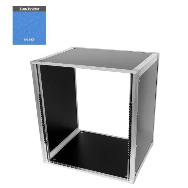 19 Zoll Studio-Rack 40 CM 12 HE Birke MPX blau