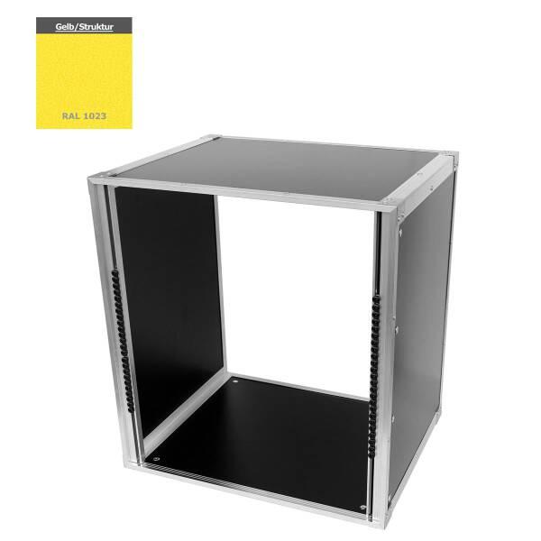 19 Zoll Studio-Rack 40 CM 12 HE Birke MPX gelb