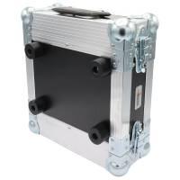 2 HE Half Size Rack für Sennheiser XSW Funkempfänger Phenol schwarz