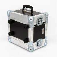 4 HE Half Size Rack für Sennheiser EW Funkempfänger Phenol schwarz