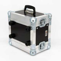4 HE Half Size Rack für Sennheiser XSW Funkempfänger blau