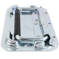 Penn Elcom H4051z Aufbau Klappgriff gefedert mit Rammschutz und Rückenplatte