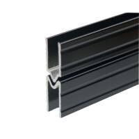 Penn Elcom Black Edition Aluminium Schließprofil-Paar male/female 7 mm