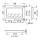 Penn Elcom D024Z Boxen Einbauplatte verzinkt für 4 D-Typ