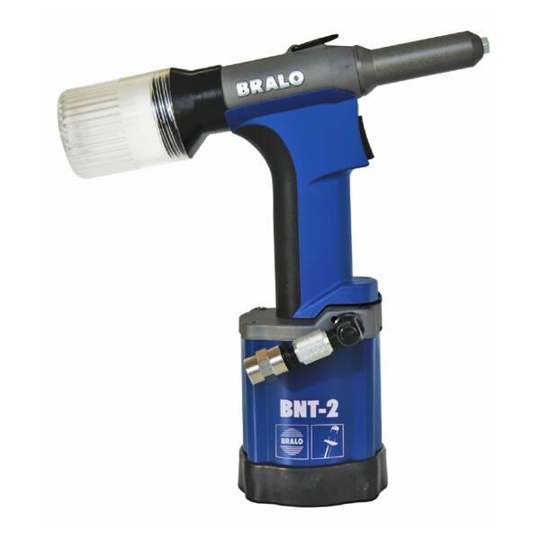 Bralo BNT-2 Blindnietgerät pneumatisch für Nietdurchmesser von 2,4 - 5,2 mm