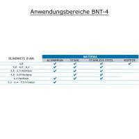 Bralo BNT-4 Blindnietgerät pneumatisch für Nietdurchmesser von 4,8 - 7,5 mm